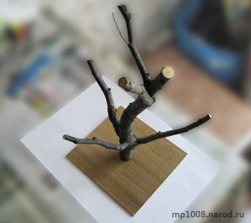 Ветка для имитации дерева